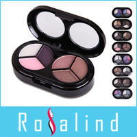 Rosalind Brand Makeup 6 Colors Eye Shadow Palette Party Wedding Cosmetics Free Shipping