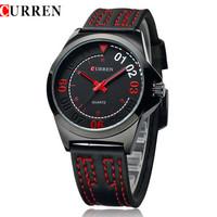 2015 CURREN Original Top Brand Authentic Watch Fashion Casual High Quality Mens Watches Steel Quartz Watches Quartz Wristwatches