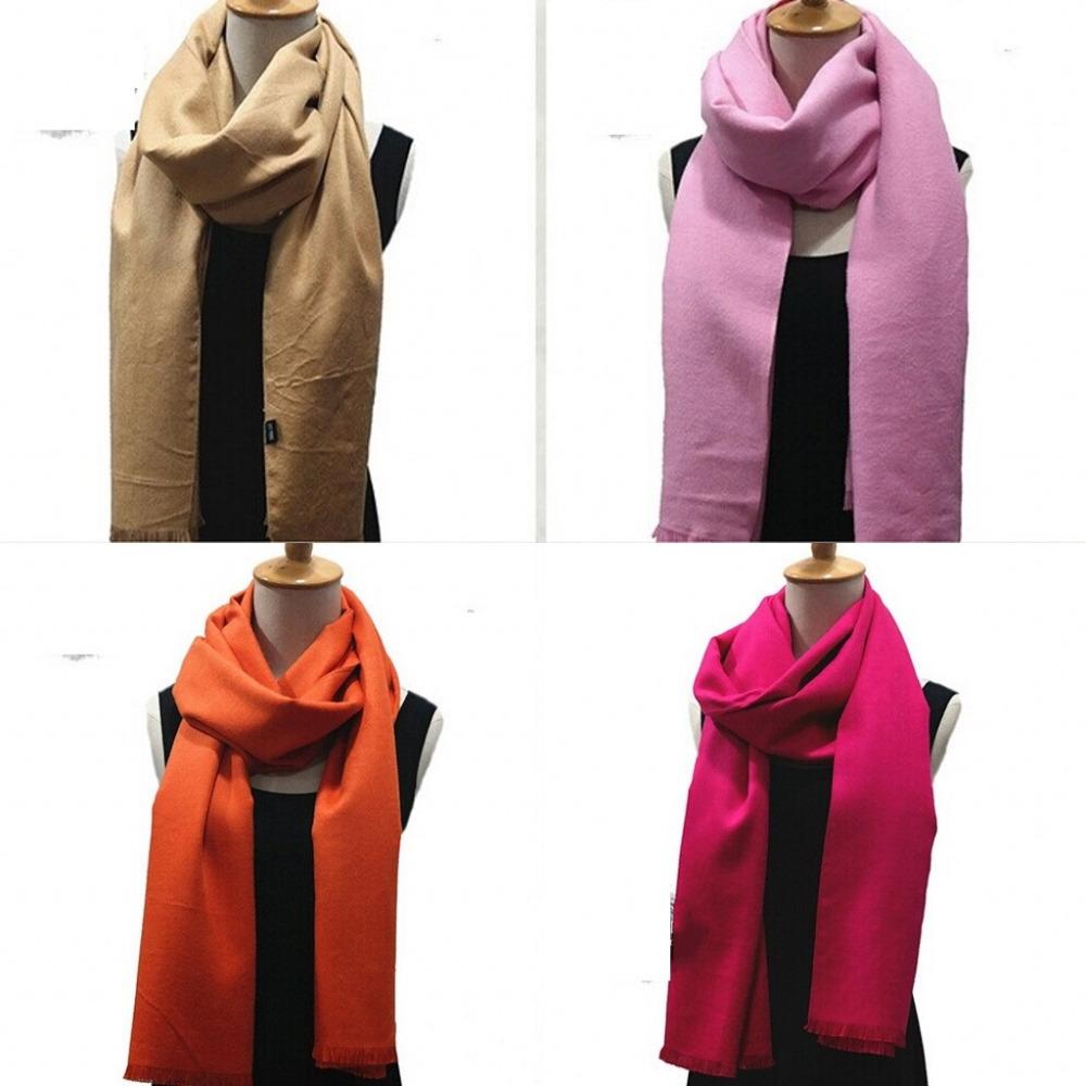 2015 new women fashion solid red spring winter warm long scarf shawls Scarf men silk scarves lady thick headband Black Blue(China (Mainland))