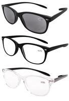 3-pack Retro Chic Vintage Inspired 80's Wayfarers Style Reading Glasses Men FR007+1.00/1.25/1.50/1.75/2.00/2.25/2.50/2.75/3.00