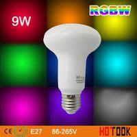 2.4G Mi Light 9W E27 bulb Wireless WiFi LED Bulb Lamp Spot Light Color Dimmable Smart Led Lighting RGBW Series (Wifi Compatible)