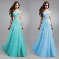New Lady Long Chiffon Bridesmaid Evening Formal Party Ball Gown Prom Dress