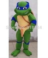 fast shipping  Mascot Teenage Mutant Ninja Turtle Mascot Costume Adult Character Costume