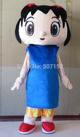 New Ni Hao Kai-lan Mascot Adult Costume hallowwen christmas birthday Party Supplies Free Shipping