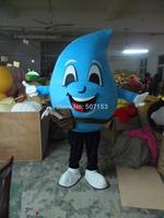 Hot Sale raindrop costume adult blue water drop mascot costume