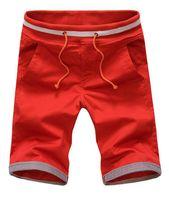 8 Colors Men's Shorts Summer 2015 Causual Cotton Rope Shorts Fashion New Men Shorts Plus Size:M,L,XL,XXL,3XL,4XL,5XL,Hot Sales