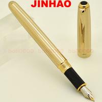 FOUNTAIN PEN JINHAO NEW PRODUCT 601 18KGP MEDIUM NIB GOLD JJ343