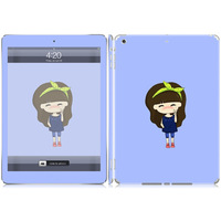 Brand New protective skin sticker for iPad air Victory sign design