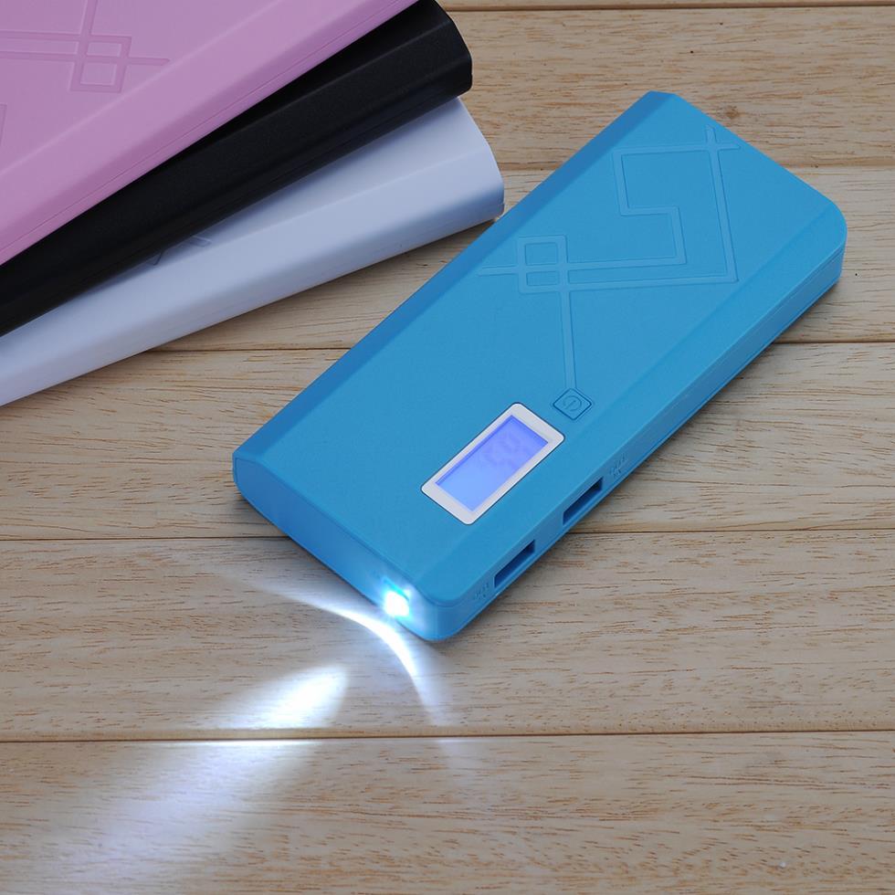 Зарядное устройство 12000mAh LCD USB USB SDH-5W зарядное устройство duracell cef14 аккумуляторы 2 х aa2500 mah 2 х aaa850 mah