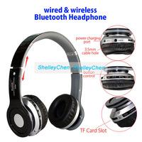 Hot sale Wireless stereo Bluetooth Earphone Headset headphone For Samsung S3 S4 S5 Note 2 3 HTC Iphone mp3 headphones