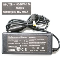 2015 2pcs N130 16V 4A replacement AC Adapter Charger for Sony 6.5x4.4mm NW AC Adapter Charger for sony Vaio free shipping