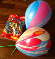 200pcs/lot Iridescent color cloud balloons 12 inch party decoration latex material thicken printed ballons+ inflator