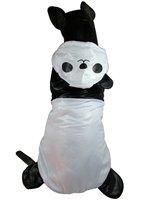 BIG SIZE New Panda Design Large Dog Clothes Big Pet Thick Warm Jumpsuit Pajamas Tracksuit Clothing 2XL 3XL 4XL 5XL