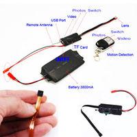 Free shipping 1080P HD DIY Module Hidden Camera Video MINI DV DVR Motion Remote Control d