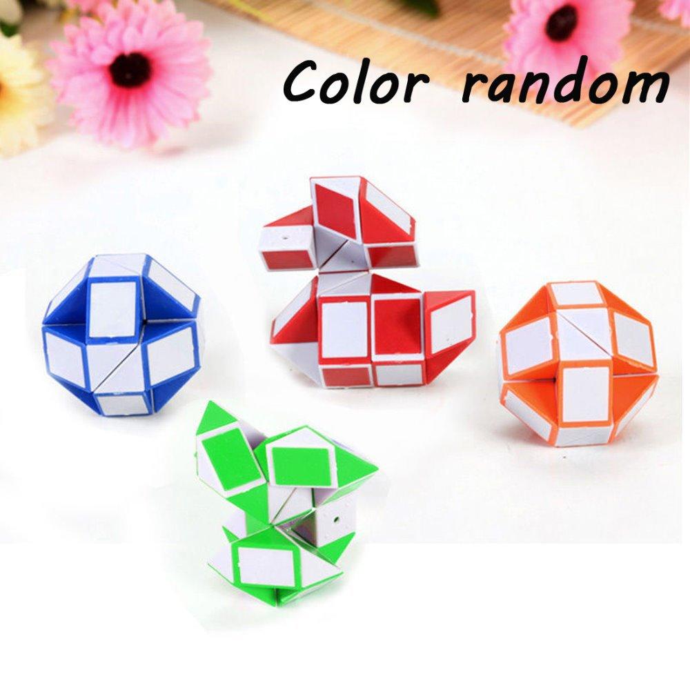 Fashion New Mini Magic Snake Pony Ball Shape Toy Game 3D Novelty Cube Puzzle Twist Puzzle kids love Toys(China (Mainland))
