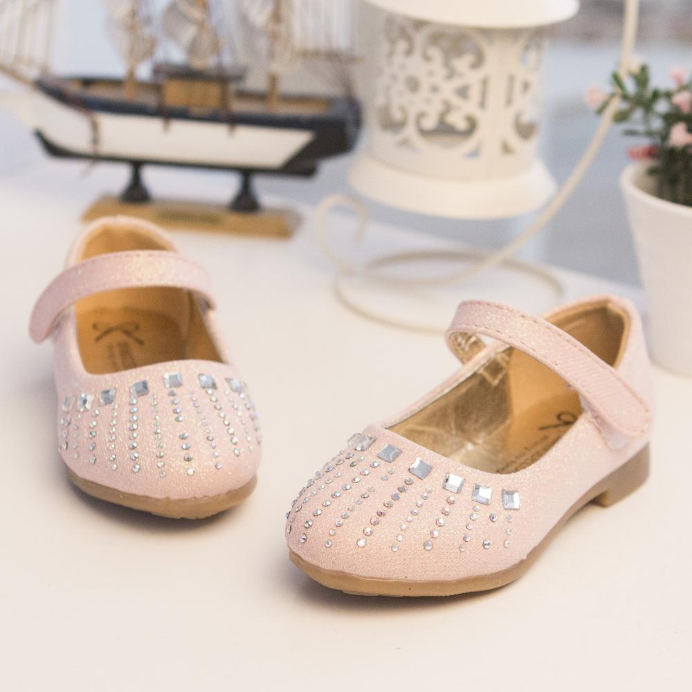 2015 hot new fashion shoes with diamond princess girls Korean children 's shoes single shoes(China (Mainland))