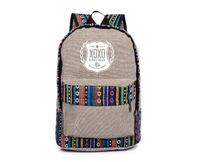 EXO Backpack XOXO national wind backpack Korean Institute of wind bag backpack schoolbag kpop exo  bts