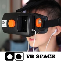 Google Cardboard Head Mount Oculus Rift 3D Headset Plastic Version VR Virtual Reality 3D Glasses oculos for 4~5.7 smartphone