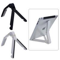 Fold Travel Stand Desktop Holder Support Cradle Dock For iPad Tablet Portable