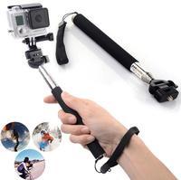 2015 Hot Portable Selfie Extendable Handheld Monopod Pole for GoPro Hero 1/2/3 Camera