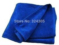 2 pcs Car wash cleaning Cloth 40cmx40cm blue Super Micro fiber glass towel high quality