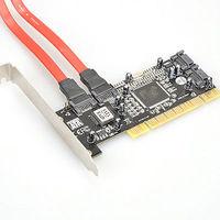 Brand New 4 Port SATA PCI CONTROLLER RAID CARD 1.5Gb/sec for Windows 98SE/ME/