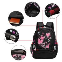 VEEVAN 2015 new school bag for women girls designer brand women backpack children school bags flower pritting backpacks