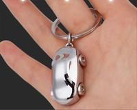 2015 New Cute Rhinestone Mini Car Key chains Ring Fashion Metal Keychain Keyring Gift Purse Bag Handbag Charm Pendant
