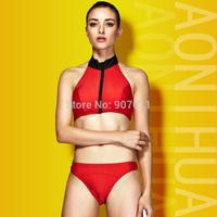 2015 new women split triangle bikini swimwear sexy swimsuit free shipping