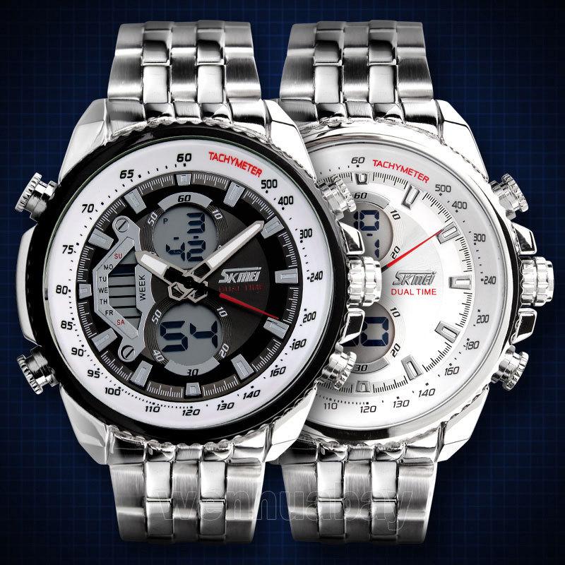 Skmei Watches Men Luxury Brand LED Digital Men Sports Watches Military Waterproof Watch Fashion Quartz Men