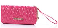 Ladies Women Wallets Shiny PU Leather Purses Long Wallet Women Elegant Female Red Women's Wallets Woman Leather Wallet Purse