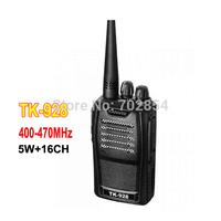 Kinwei TK928 walkie talkie 5W 16CH Portable Radio UHF 400-470MHz Scramble Handheld TKld-928 Walkie Talkie