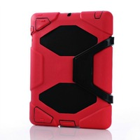 30pcs/lot Military Extreme Heavy Duty Waterproof Shockproof Case With Stand For iPad 2 3 4
