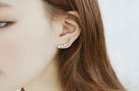 Hot 1 Pair Women Fashion Jewelry Crystal Rhinestone Stud Ear Earrings For Sale