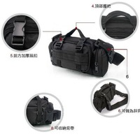 1pc/lot Outdoor Camouflage Bag Military Tactical Waist Pack Canvas Camera Single Shoulder Messager Bag 5 Colors EJ641456