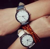 2015 New Fashion Unisex Quartz Watches Men Sports Watches Denim Fabric Women Dress Watch  wristwatch Design hours free shipping