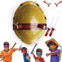 Teenage Mutant Ninja Turtles Boy Combat Gear Costume Mask Weapon Sword TMNT