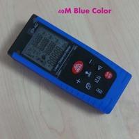 Blue 0.05M-40M /131ft Handheld Digital Laser Distance Meter Range Finder with Free bag