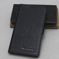 For Lenovo K920 leather case for Lenovo K920 genuine leather case