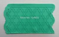 Wholesale 10 Pcs/lot LC-103 Silicone Mat To Create Sugar Laces,Cake Fondant Silicone Molds,Fondant Cake Decorating Molds Tools