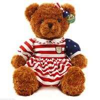 Niuniu Daddy Plush toy teddy bear skirt plush bear Gifts for girls 27.5(inch)