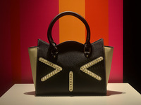 Genuine leather women's handbag cat handbag cowhide women's messenger bag rivet shoulder bag