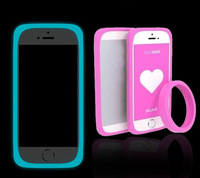 The multi-function bracelet universal bumper case ,silicone Anti-knock ring case For Elephone P6000,gift