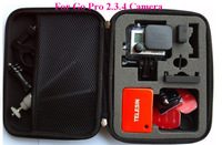 Travel Bags Storage Protective Bag Case for GoPro HD HERO Hero4, 3+, 3, 2, 1 Cameras Accessories