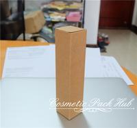 1.6*1.6*8cm Kraft Paper Box Pen Box Cosmetic Essence Lipstick Bottle Box Custom Paper Boxes