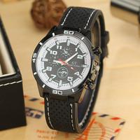 New Fashion F1 Racing Fashion GT Sports Cool Watches Silicone Strap Men Luxury Brand Quarzt Watch