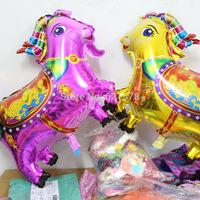 New arrival 10pcs /lot  metallic goat balloon for new year Festival decoration sheep foil balloon helium mylay