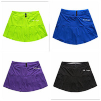2014 women's sports summer short skirt tennis skirts badminton short skirt yoga sports skirt