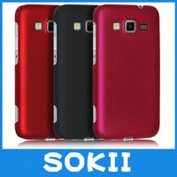 Sokii,For Galaxy Core Advance i8580 hard rubber cover,Hybrid Hard Case Cover For Samsung Galaxy Core Advance cover+Screen film