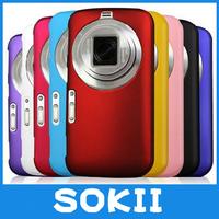Sokii,For Samsung Galaxy K Zoom C1158 C1116 hard rubber cover,Hybrid Hard Case Cover For Galaxy K Zoom C1158 cover+Screen film